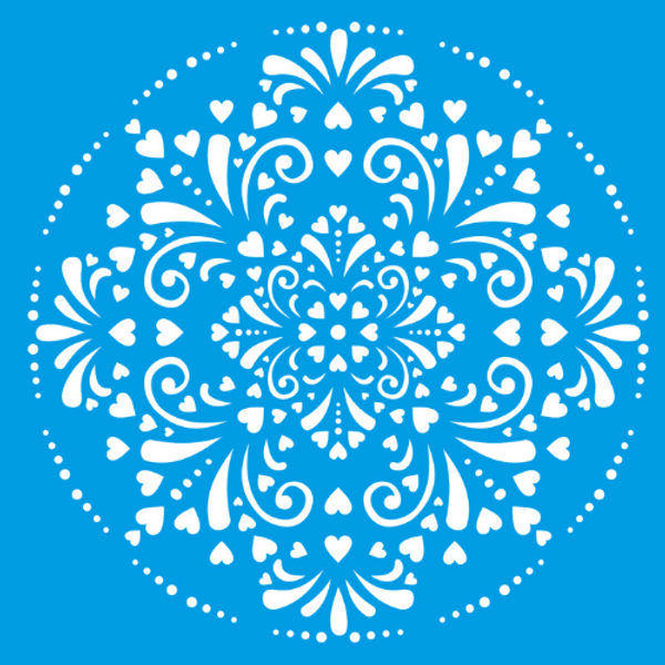 Stencil-Litocart-25x25-LSPQ-010-Mandala-Ladrilho-Coracao