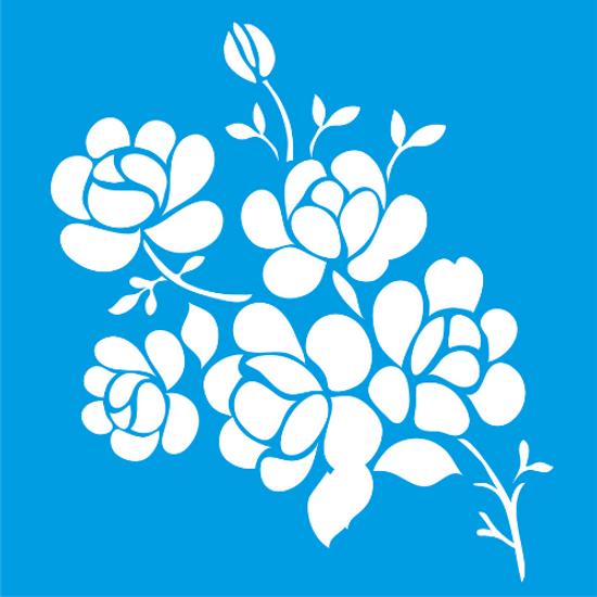 Stencil-Litocart-20x20-LSQ-106-Flores