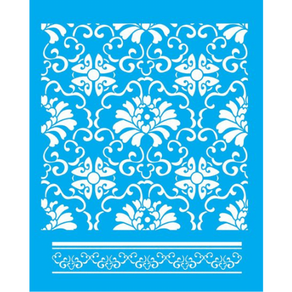 Stencil-Litocart-20x15-LSM-075-Ladrilho-Flor