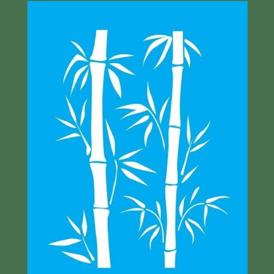 Stencil-Litocart-20x15-LSM-078-Bambu