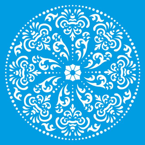 Stencil-Litocart-20x20-LSQ-063-Mandala-Pontilhismo