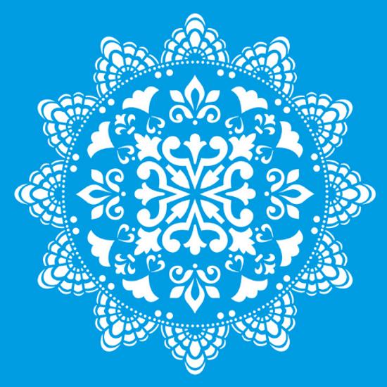 Stencil-Litocart-20x20-LSQ-065-Mandala-Ladrilho