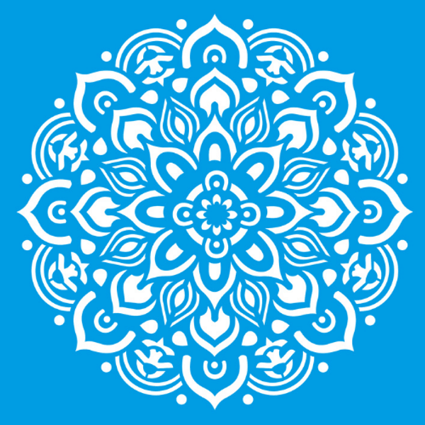 Stencil-Litocart-20x20-LSQ-067-Mandala-Floral
