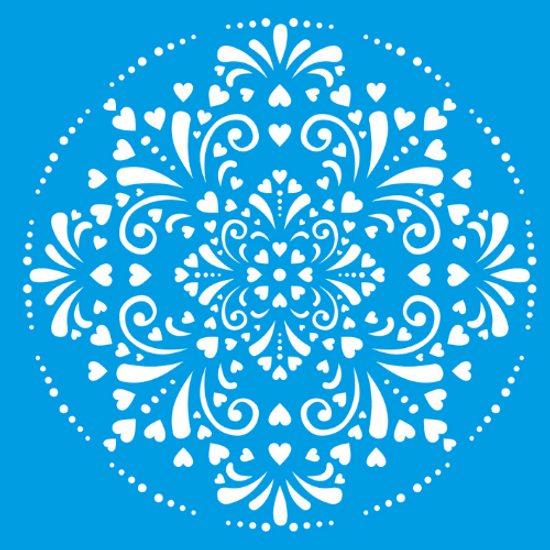 Stencil-Litocart-20x20-LSQ-071-Mandala-Ladrilho-Coracao