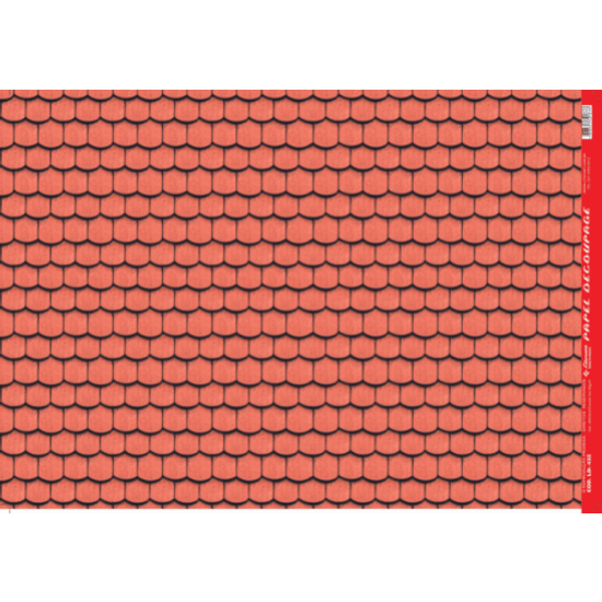 Papel-Decoupage-Litocart-34x48cm-LD-432-Estampa-Telha