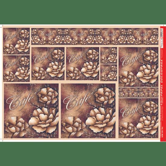 Papel-Decoupage-Litocart-34x48cm-LD-783-Cafe