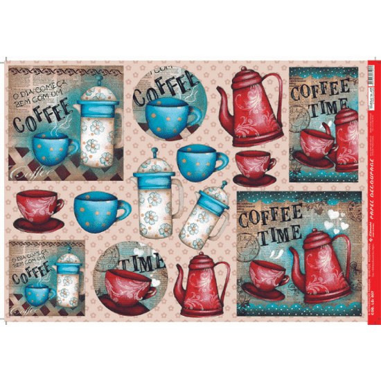 Papel-Decoupage-Litocart-34x48cm-LD-807-Coffee