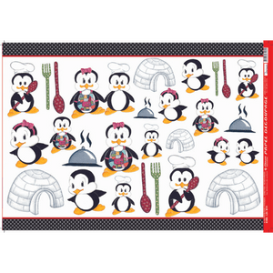 Papel-Decoupage-Litocart-34x48cm-LD-811-Pinguim-Cozinheiro