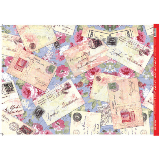 Papel-Decoupage-Litocart-34x48cm-LD-888-Cartas