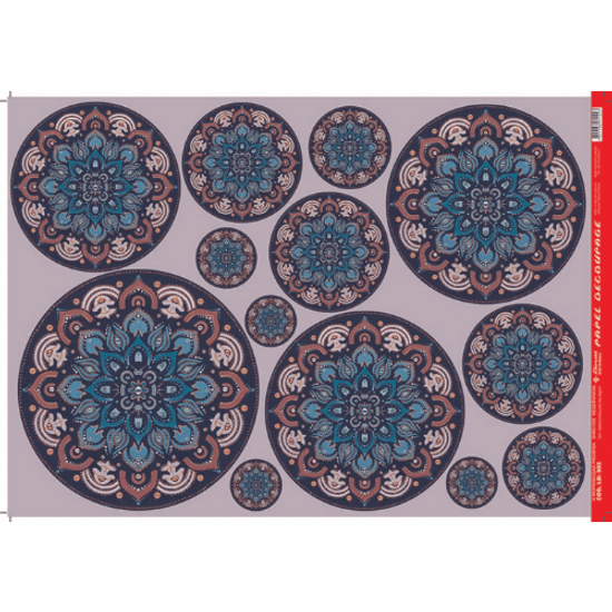 Papel-Decoupage-Litocart-34x48cm-LD-892-Mandalas