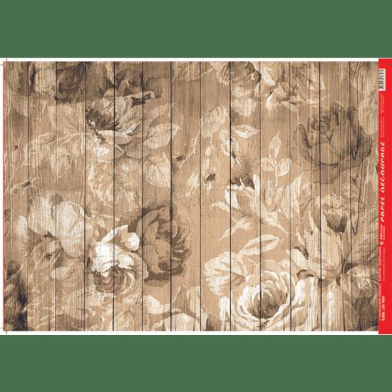Papel-Decoupage-Litocart-34x48cm-LD-901-Madeira-Floral