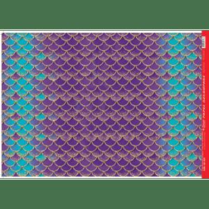 Papel-Decoupage-Litocart-34x48cm-LD-925-Escama-de-Sereia-Roxa