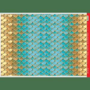 Papel-Decoupage-Litocart-34x48cm-LD-927-Escama-de-Sereia-Azul