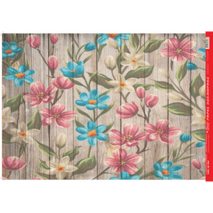 Papel-Decoupage-Litocart-34x48cm-LD-940-Flores-na-Madeira