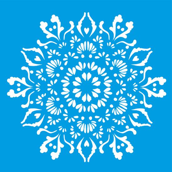Stencil-Litocart-20x20-LSQ-096-Mandala-Floral
