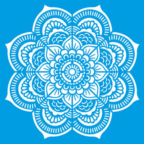 Stencil-Litocart-30x30-LSPG-031-Mandala-Border