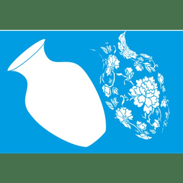 Stencil-Litocart-30x20-LSS-025-Vaso-de-Flor