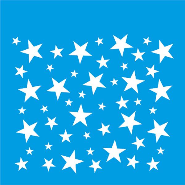 Stencil-Litocart-20x20-LSQ-116-Estrelas