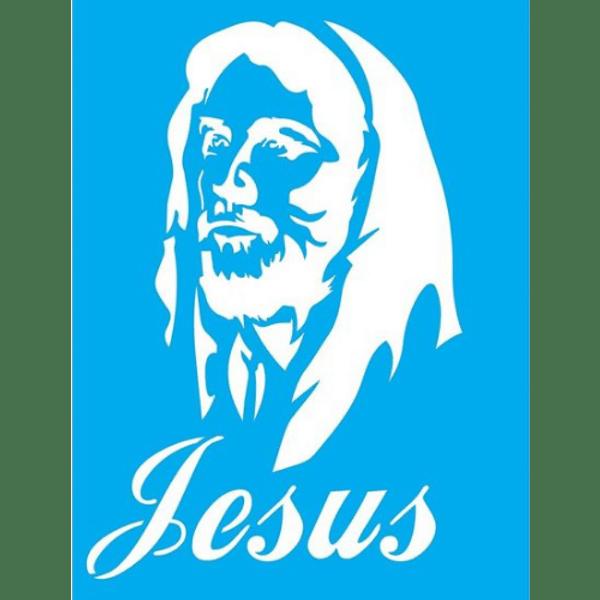 Stencil-Litocart-20x15-LSM-083-Jesus