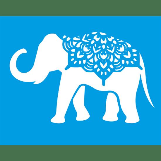 Stencil-Litocart-25x20-LSG-109-Elefante