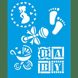Stencil-Litocart-25x20-LSG-113-Baby