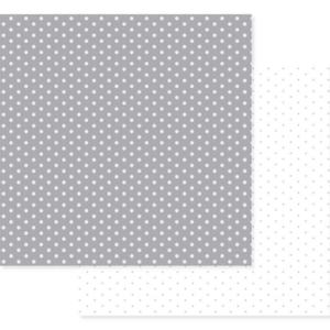 Papel-Scrapbook-Decore-Crafts-305x315cm-2004-14-Cinza-Poa