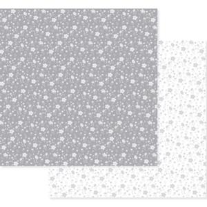 Papel-Scrapbook-Decore-Crafts-305x315cm-2004-16-Cinza-Floral