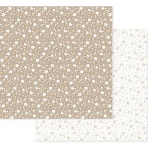 Papel-Scrapbook-Decore-Crafts-305x315cm-2004-24-Marrom-Floral
