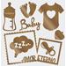 Aplique-Charme-Decore-Crafts-10x15cm-2005-22-Baby-II-Cobre