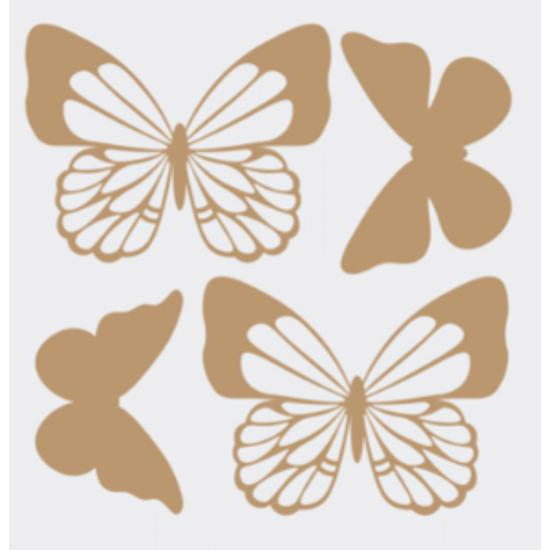 Aplique-Charme-Decore-Crafts-10x15cm-2101-35-Borboletas-II-em-MDF