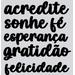 Aplique-Charme-Decore-Crafts-10x15cm-2102-25-Palavras-VI-Preto