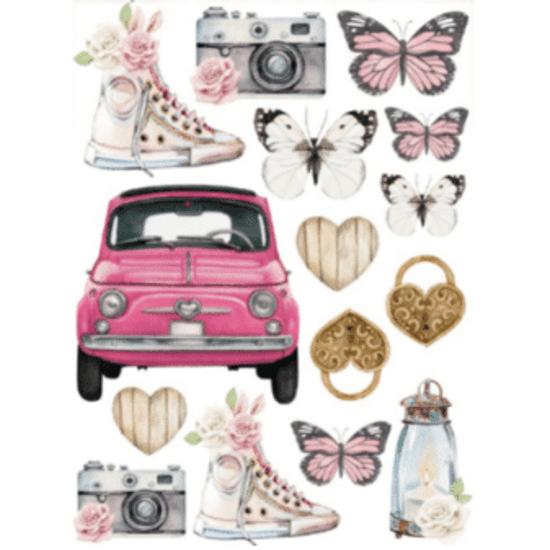 Adesivo-de-Papel-Decore-Crafts-10x15cm-2021-51-Encanto-de-Flores-Mix