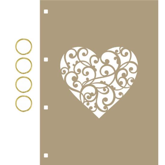 Capa-para-Mini-Album-em-MDF-Decore-Crafts-15x21cm-2101-59-Coracao-A