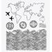 Carimbo-de-Silicone-Decore-Crafts-9x11cm-2102-36-Viajar-e-Amar