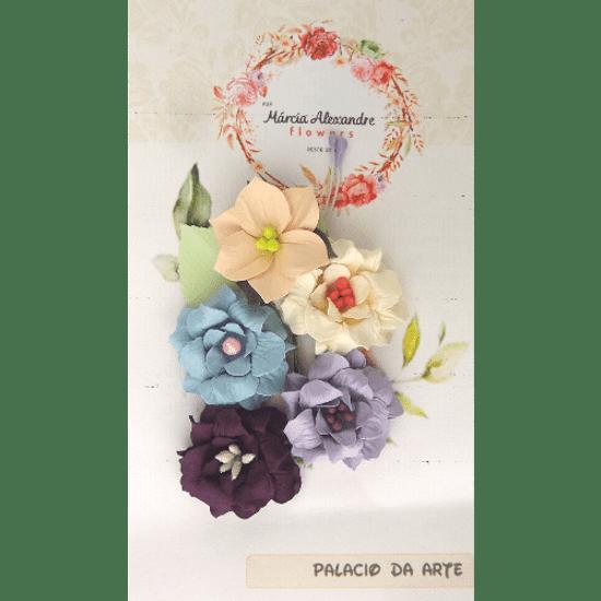 Flores-de-Papel-Artesanal-e-Perfumadas-00012-01-Agatha-Doce-de-Pote-com-5-unidades