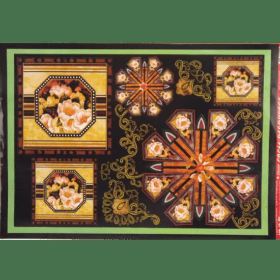 Papel-Decoupage-Litocart-34x48cm-LD-384-Flores-Molduras-e-Arabesco