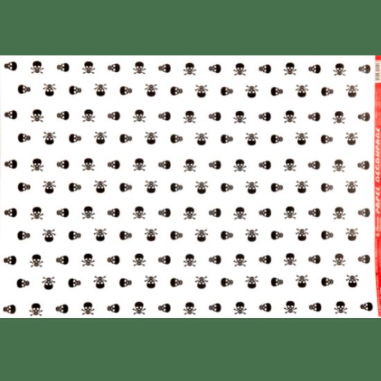 Papel-Decoupage-Litocart-34x48cm-LD-556-Caveira