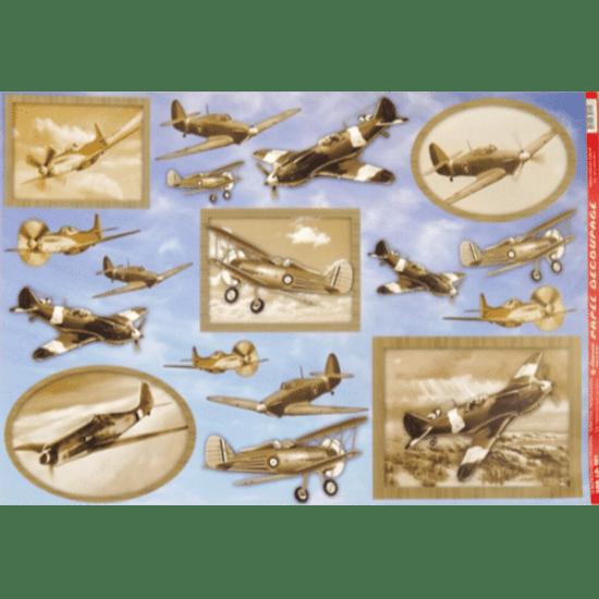 Papel-Decoupage-Litocart-34x48cm-LD-561-Avioes