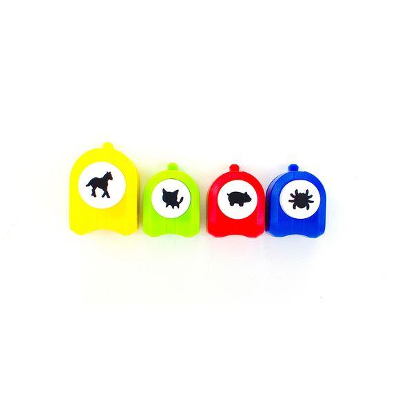 Kit-Mini-Furadores-Scrap-Escola-para-Papel-Toke-e-Crie-KSE003-Animais