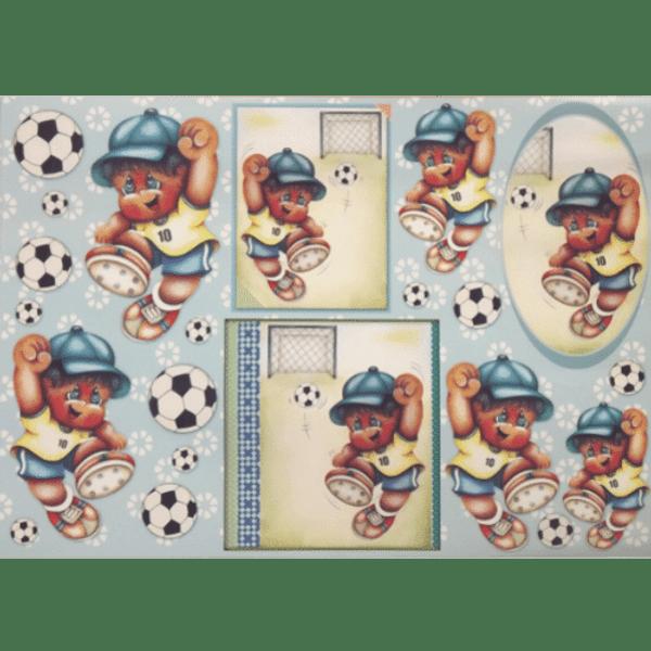 Papel-Decoupage-Litocart-34x48cm-LD-705-Menino-Futebol