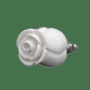Puxador-de-Gaveta-Botao-de-Rosa-2x2-Resina-Branco