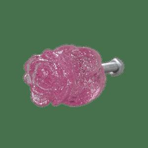 Puxador-de-Gaveta-Botao-de-Rosa-2x2-Resina-Transparente-Rosa