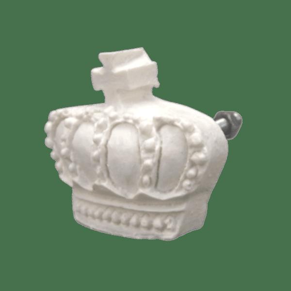 Puxador-de-Gaveta-Coroa-35x45-Resina-Branco