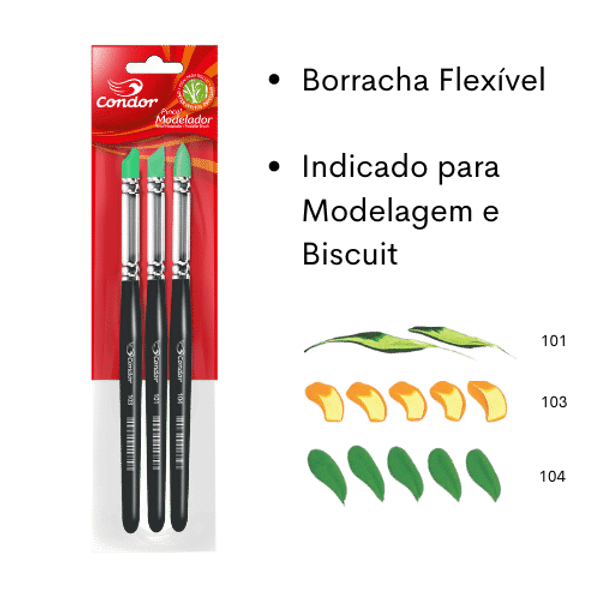 Kit-Pincel-Modeladores-Condor-113-3-pecas