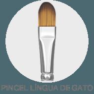 Pincel - Língua de Gato