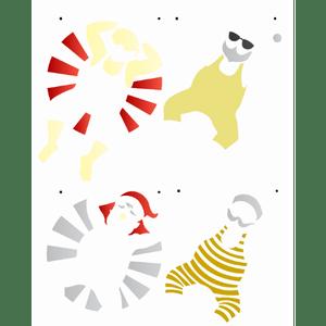 Stencil-Opa-Natal-20x25-3147-Papai-Noel-Verao-II