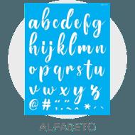 Stencil - Alfabeto