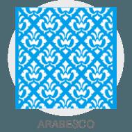 Stencil - Arabescos