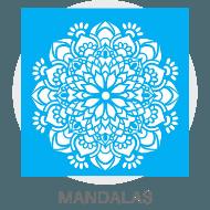 Stencil - Mandalas