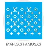 Stencil - Marcas Famosas